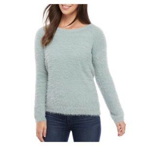Ellen Tracy Downtown Glam Eyelash Sweater